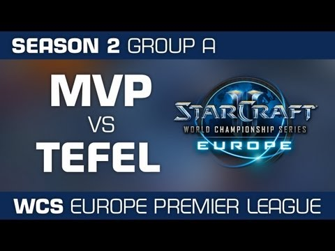 MVP vs. Tefel - Group A Ro32 - WCS European Premier League - StarCraft 2