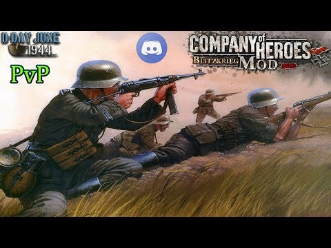 CoH Blitzkrieg Mod PvP _ Discord game with old players