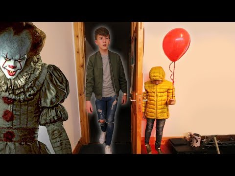 "Thumbnail: ""IT"" CREEPY BALLOON PRANK ON BIG BROTHER!"