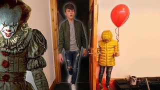 """IT"" CREEPY BALLOON PRANK ON BIG BROTHER!"