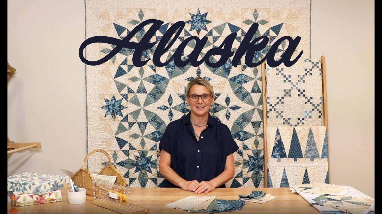 Alaska Quilt Pattern by Laundry Basket Quilts 71.5 x 71.5 LBQ-0722-P