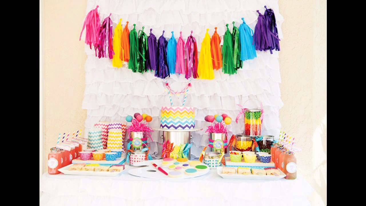 Easy To Do Birthday Party Craft Ideas Youtube