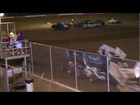 Trail-Way Speedway 358 Sprint Car Highlights 6-25-10