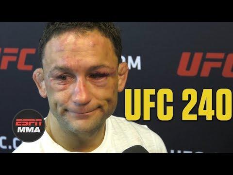 Frankie Edgar talks emotional loss vs. Max Holloway | UFC 240 | ESPN MMA