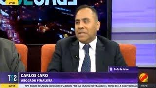 Carlos Caro - Todo se Sabe RPP TV (11.07.17) Pedido de prisión preventiva contra Humala y Heredia