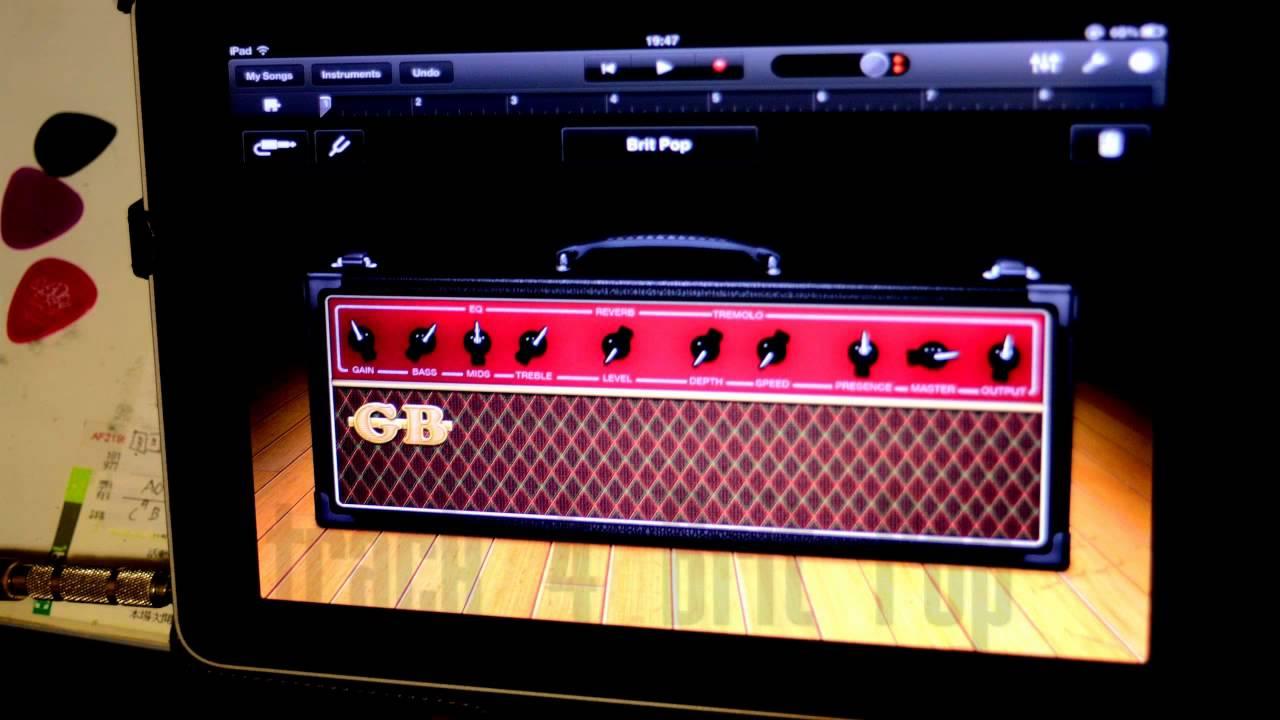 apogee jam with ipad garageband test plug guitar and microphone youtube. Black Bedroom Furniture Sets. Home Design Ideas