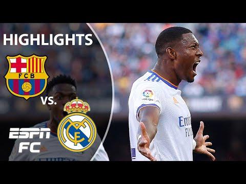 Alaba's El Clasico rocket helps Real Madrid win 2-1 vs. Barcelona   LaLiga Highlights   ESPN FC