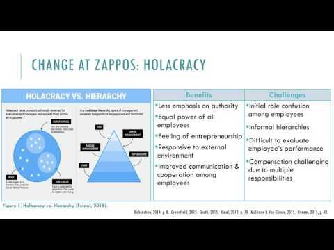 Zappos & Organizational Change_Grad Research Project HRT6575