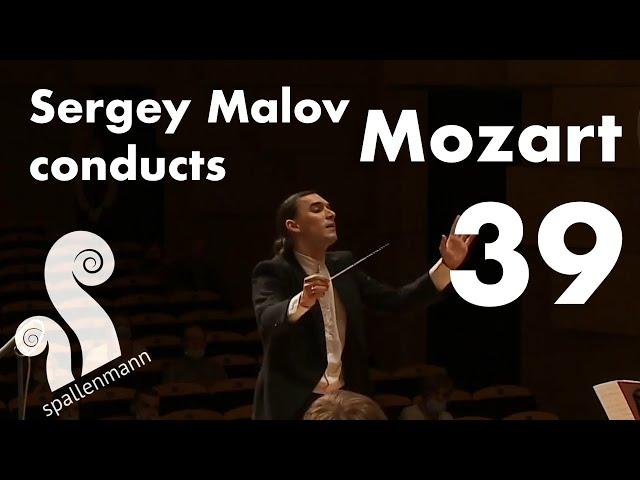 Sergey Malov conducts Mozart Symphony no.39 E-Flat Major, KV543