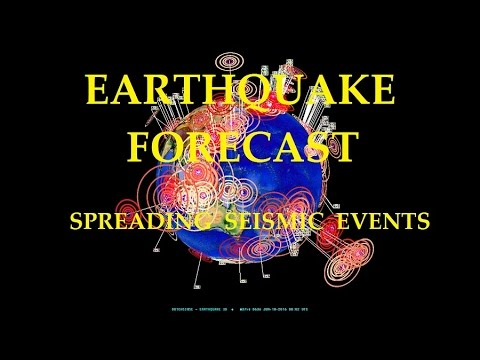 6/09/2016 -- Global Earthquake Forecast -- Seismic activity spreading WORLDWIDE from West Pacific - 동영상
