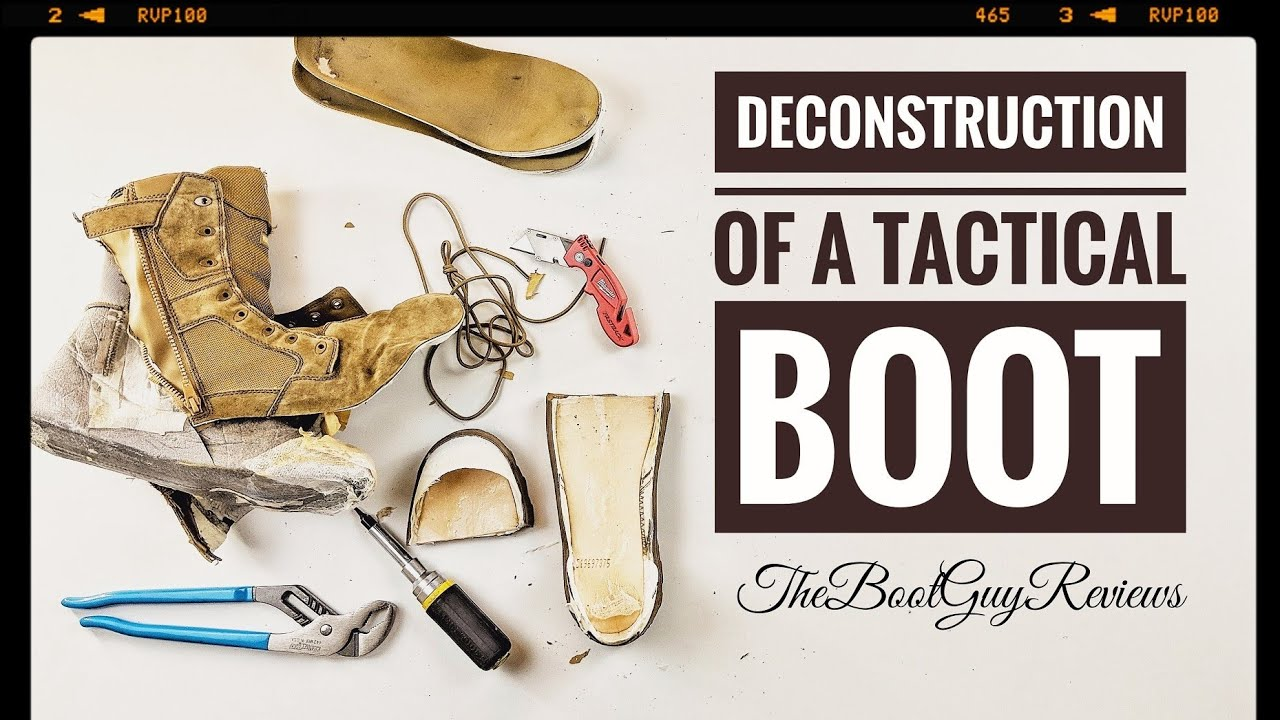 315961964111 DeConstruction of a Tactical Boot