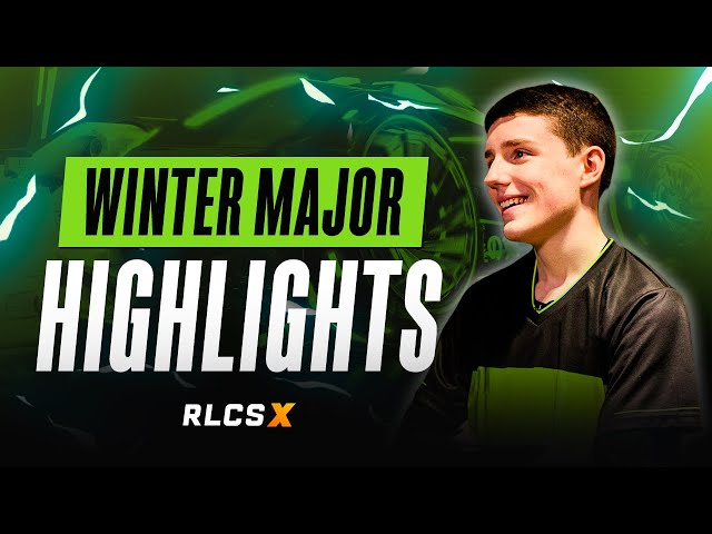 Team Singularity Rocket League | RLCS X Winter Major Highlights