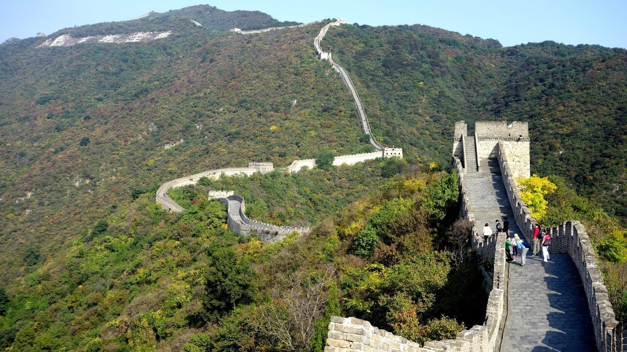 Hd wallpaper great wall of china - Great Wall Of China Mutianyu Section In Hd Youtube