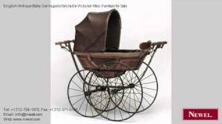 English Antique Baby Carriage/crib/cradle Victorian Misc