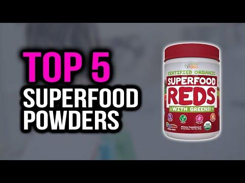 Top 5 Best Superfood Powders in 2020