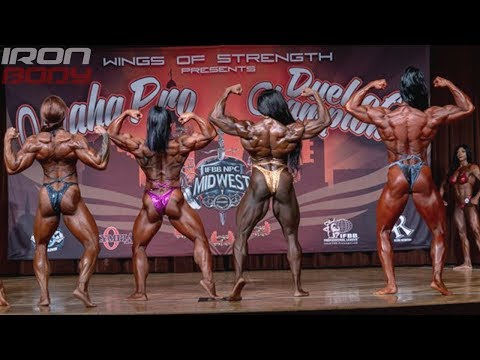 2019 Omaha Pro Top 6 Women's Bodybuilding