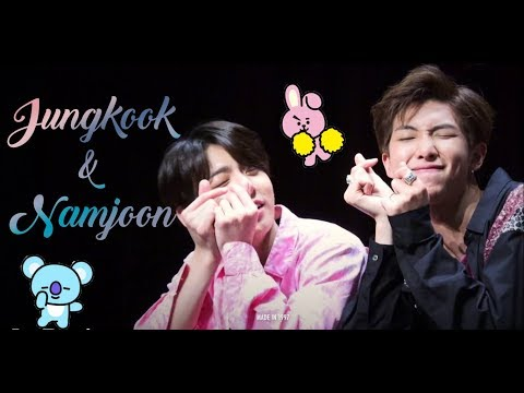 [Jungkook With Hyung #2] - Namkook Moments - Jungkook & Namjoon