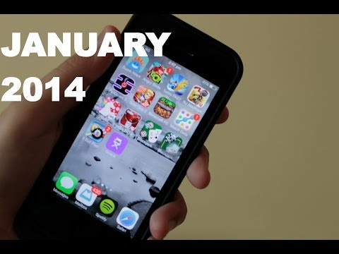 Top 10 Best Free Apps/Games for iPhone, iPod Touch (January 2014)