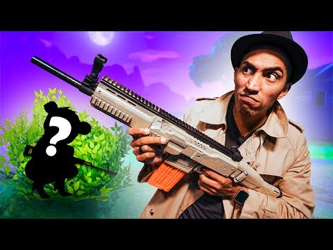 NERF Fortnite Hide and Seek Challenge!