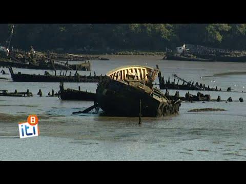 Kerhervy : un cimetière de bateaux