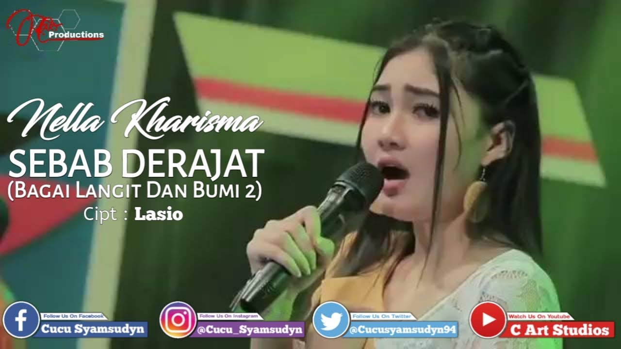 Nella Kharisma - Bagai Bumi Dan Langit 2 (Sebab Derajat) [Video Lyrics] #1