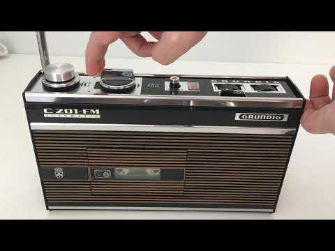 grundig-c201-fm-automatic-(1968-70)-radiorecorder---recording-demo-fm-radio-(basf-ferro-super-lh-i)