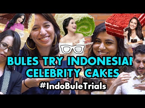 #IndoBuleTrials: Bules Try Indonesian Celebrity Cakes!