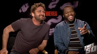 50 Cent Gerard Butler and Cast of Den Of Thieves Speak on Their New Film  In Theaters Now