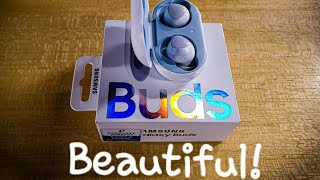 Buying and unboxing Galaxy Buds /شراء وفتح صندوق سماعات سامسونج
