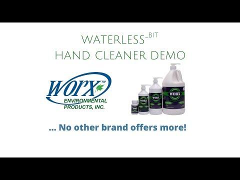 Waterless Hand Cleaner (Demo)