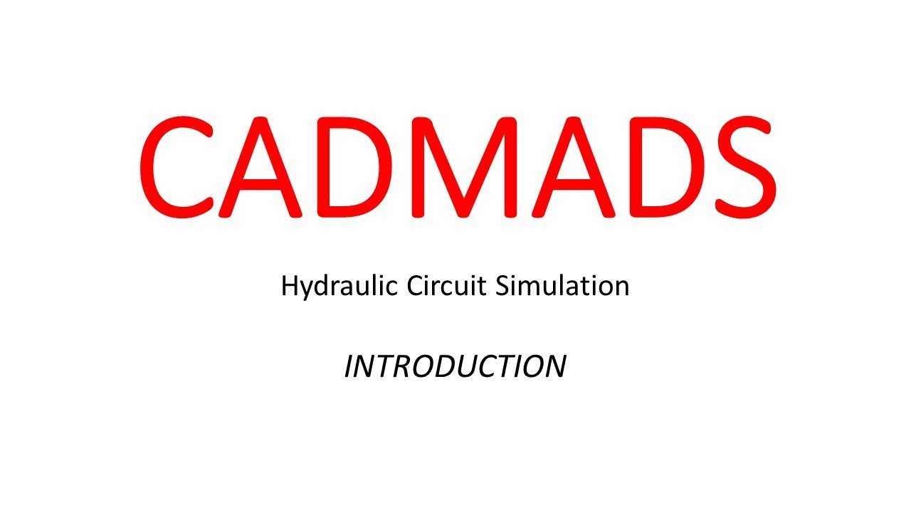 Hydraulic Circuit Simulation | Introduction | Building a Simple ...