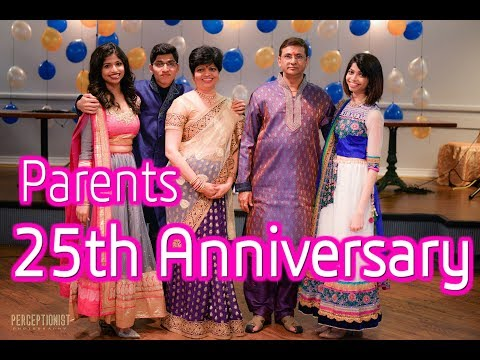 Parents 25th Anniversary skit  A Bollywood Story