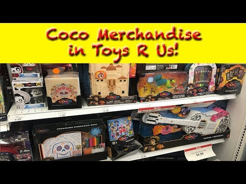 coco-merchandise-in-toys-r-us!