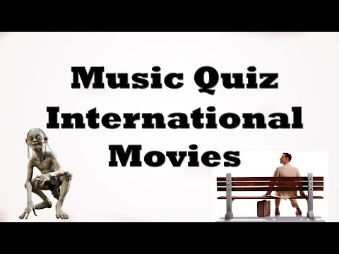 Music Quiz - International Movies Music