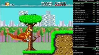 We're Back! A Dinosaur's Story - any% (USA) (SNES) in 25:27.24