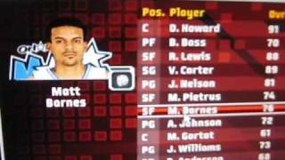 nba live 09 pc-gameplay with 09 draftees