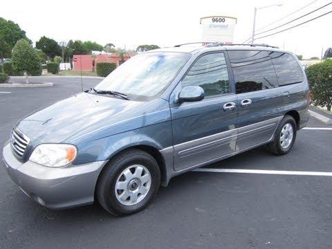 SOLD 2002 Kia Sedona EX 75K Miles Meticulous Motors Inc Florida For Sale