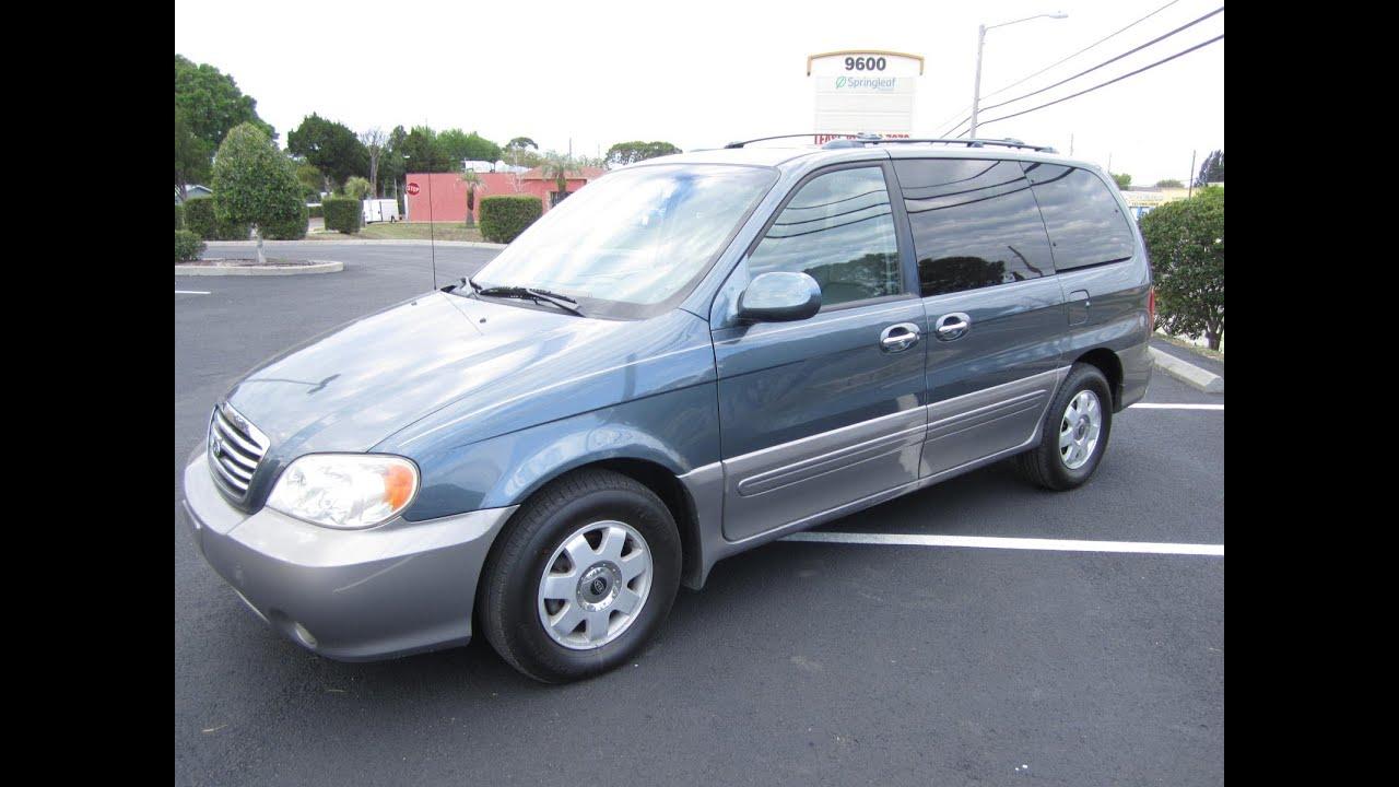 Sold 2002 Kia Sedona Ex 75k Miles Meticulous Motors Inc Florida For