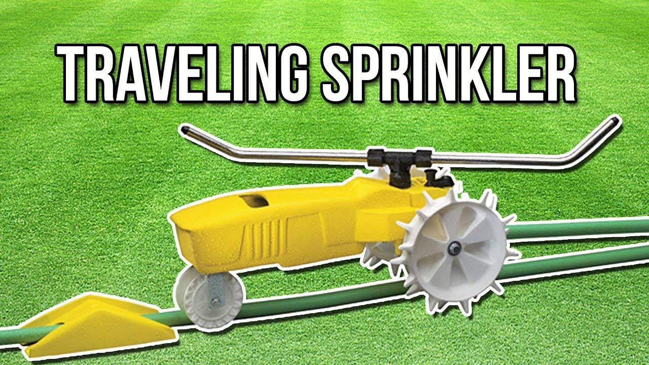 Traveling Sprinkler Unboxing, Set-up & Time Lapse