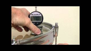 DrumDial Drum Tuning Part 4 (How To Tune A Bass Drum With A DrumDial)