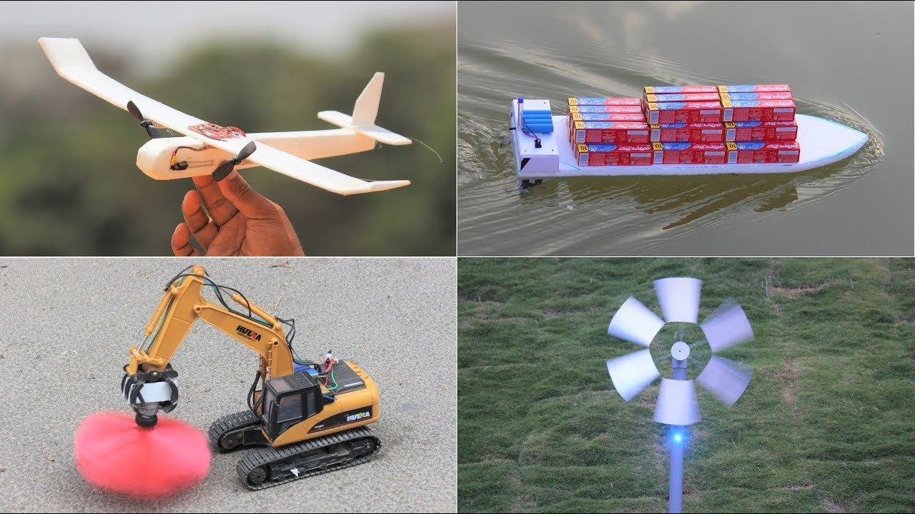 4 Amazing DIY Toys - Awesome Ideas
