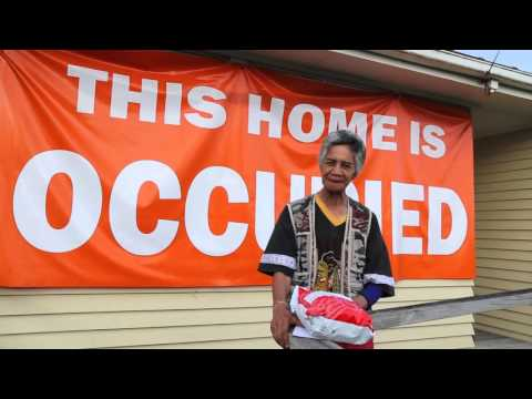 """""""We shall not be moved"""": Tāmaki tenants discuss the privatisation of their state homes"""