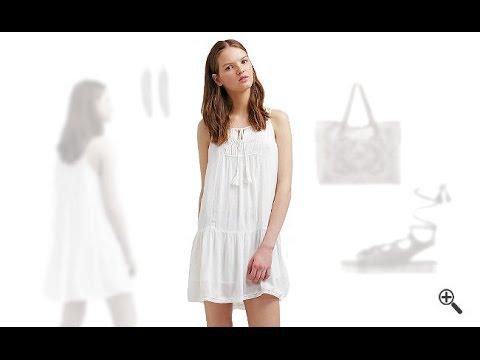 89b9bc2733bd Weiße Strandkleider + 3 Sommer Outfits für Tilly. Ich Liebe Kleider