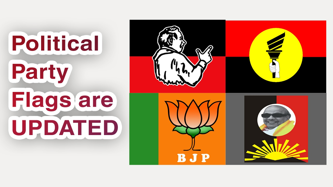 Indian Political Party Flags Are Changed Jus4Fun
