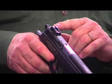 EAA SAR K2 9mm Pistol - Cocked and Locked Carry System