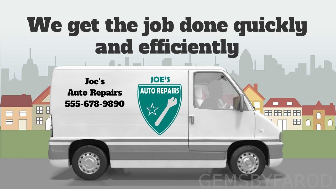 Joes Auto Repair >> Joe S Auto Repair Advert