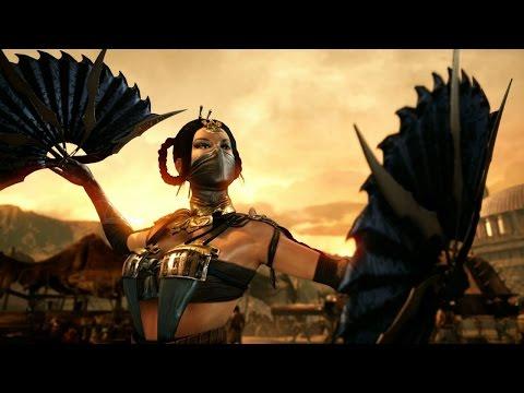 Mortal Kombat X - Kitana - Стили и движения