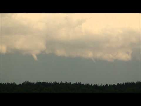 Waterspouts from Gothenburg, Ramberget and Guldhedstornet!