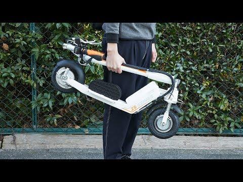 公道も走れる折り畳み電動キックボード「Airwheel Z5 BagIn!原付スクーター仕様」
