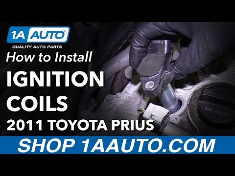 How to Install Replace Ignition Coils 2010-15 Toyota Prius